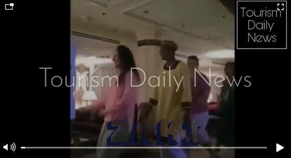تورزم ديلي نيوز ترافق السياح الإسبان في احتفال على الأغاني النوبية بأسوان