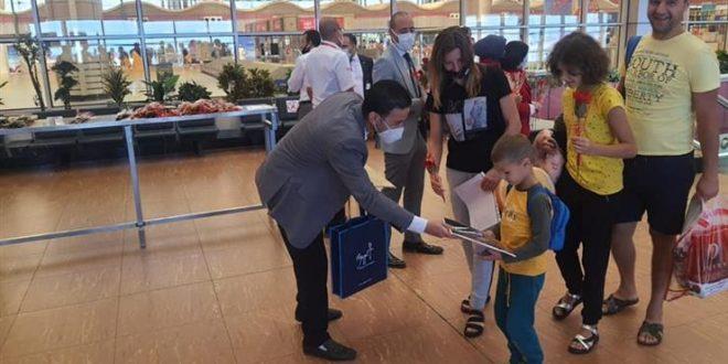 شرم الشيخ تستقيل 90 رحلة سياحية من المطارات الروسية على متنها 18 ألف سائح