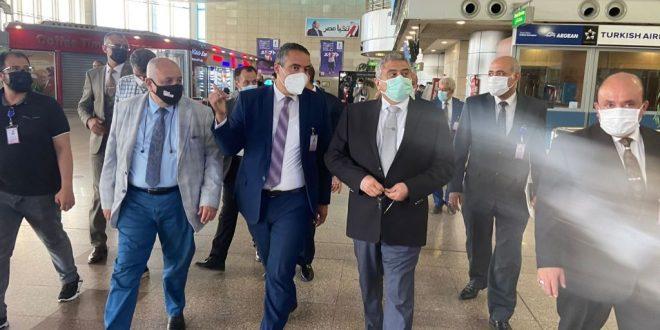 اللجنة العليا للتفتيش الأمني والبيئي بالمطارات تتفقد مطار القاهرة الدولي