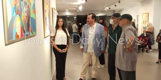 """150 لوحة لجمهور الفن التشكيلي فى """"ضي"""" تتحدي كورونا"""