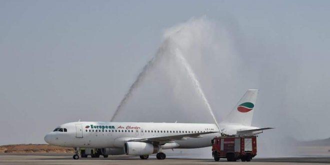 70 رحلة طيران دولية تصل مطار مرسي علم بداية من أكتوبر
