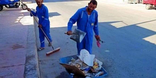 سيوة تبدأ الاستعدادات لموسم السياحة الشتوي بحملات نظافة واسعة