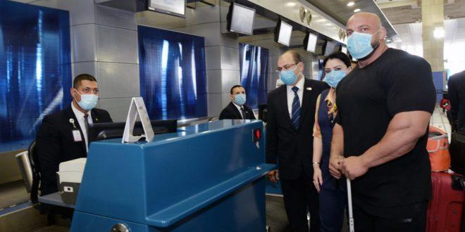 بيج رامي يشكر مصر للطيران خلال سفره للمشاركة في مستر أوليمبيا 2021 اليوم