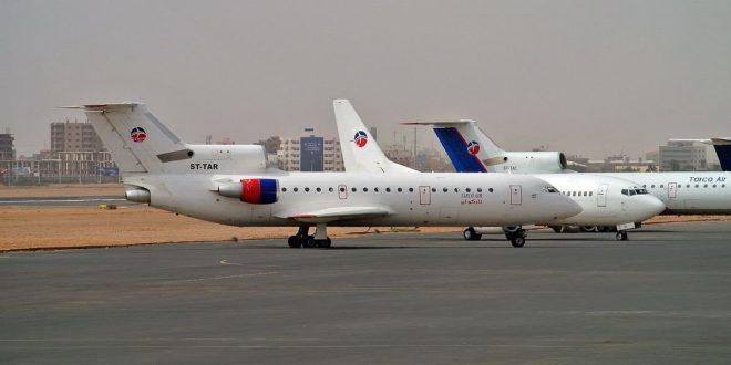 رسوم المغادرة للرحلات الداخلية تزيد معاناة شركات الطيران في السودان