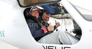 أمير موناكو يروج للطيران الكهربائي لاعتماد معايير أكثر مراعاة للبيئة