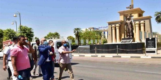 الأقصر تستعد لاستقبال الموسم السياحي بتطوير طريق المطار وإحياء الكباش