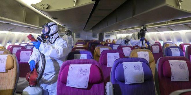 شبح عودة كوفيد-19 يصيب صناعة الطيران في الصين وانخفاض كبير في عدد الرحلات