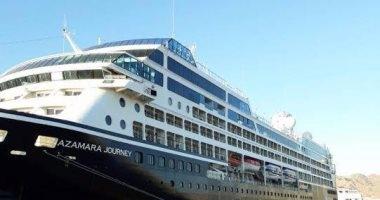 موانئ البحر الاحمر يستقبل السفينة بوسيدون ومغادرة مسك بلسيما بـ 732 سائحاً