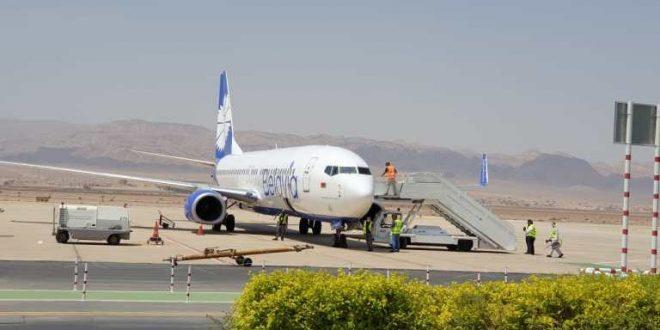 وصول طائرة من روسيا البيضاء للعقبة