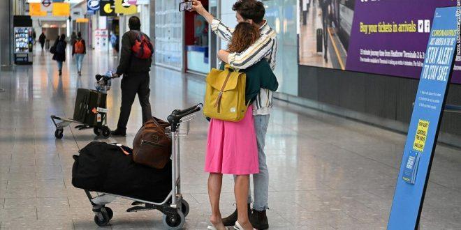 المملكة المتحدة تخطط لإلغاء قيود السفر 30 سبتمبر استجابة لنداءات العالم
