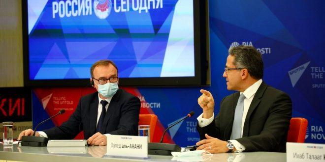 العناني يتحدث مع الروس عن ملامح استراتيجية الإعلام وحملة الترويج الدولية