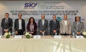البنك العربي الإفريقي وسكاي للاستثمارات يوقعان عقد تمويل بـ1.3 مليار جنيه