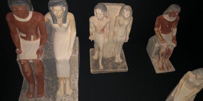 وصول مقتنيات معرض ملوك الشمس إلى مصر بعد انتهاء مدة عرضه بالعاصمة التشيكية