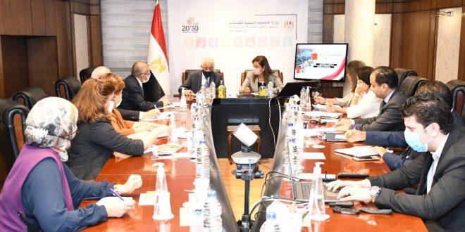 هالة السعيد تستقبل وزير التعليم لمتابعة تنفيذ برنامج الإصلاحات الهيكلية