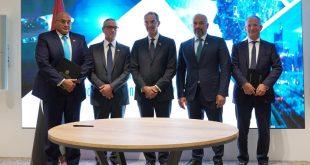 طلعت يشهد توقيع اتفاقية بين إيتيدا ونايل أون لاين لتوسيع عملياتها فى مصر