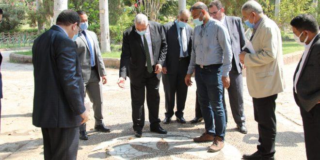 وزير الزراعة يؤكد على تطوير حديقة الأسماك والحفاظ على طابعها الأثري