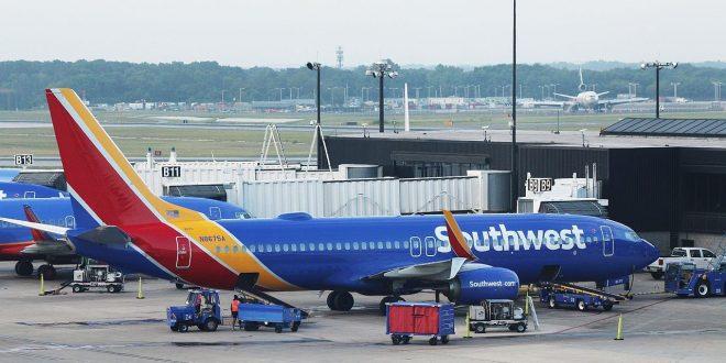 ساوث ويست أكبر شركة طيران منخفض التكلفة تلغي 1000 رحلة في يوم واحد