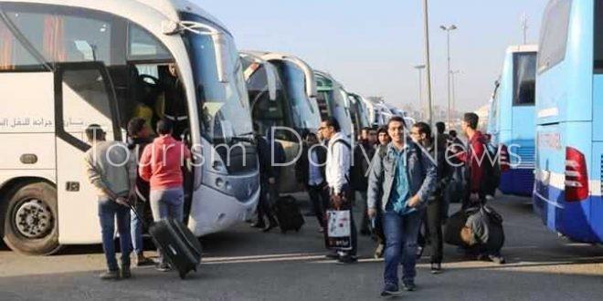 """وزارة الشباب والرياضة تنظم رحلات سياحية للطلائع ضمن برنامج """"اعرف بلدك"""""""