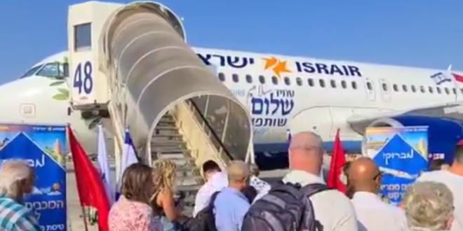المغرب وإسرائيل يطلقان أول رحلة طيران سياحية مباشرة من تل أبيب إلى الرباط
