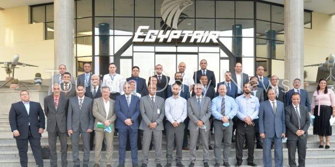 مصر للطيران تجدد اعتماد شهادة الايزاجو الدولية بدون نقاط عدم تطابق