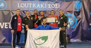 فريق البريد المصري يشارك في منافسات بطولة العالم للمصارعة للرواد لأول مرة