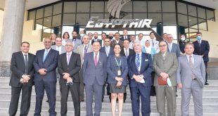 مصرللطيران تنتهى من تقييم المخاطر بجميع انشطه الشركة بالتعاون مع شركة مصر للتامين و شركة GHS الأمريكية