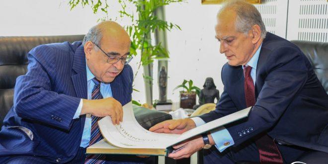 مكتبة الإسكندرية تستقبل سفير اليونان وحوار تاريخي حضاري عن علاقات البلدين