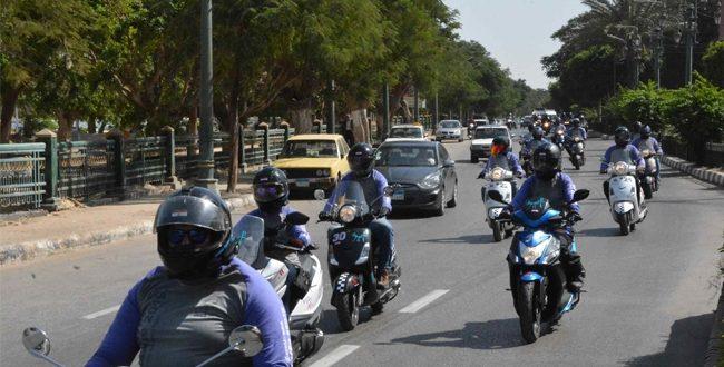 رالي تحدي عبور مصر لدعم السياحة في الطريق إلى أسيوط خلال ساعات